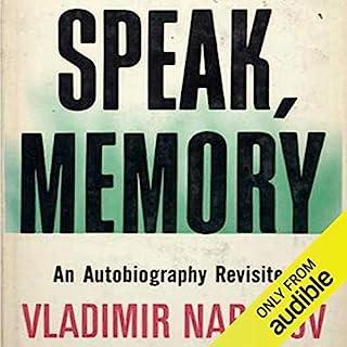 Page de couverture de Speak Memory