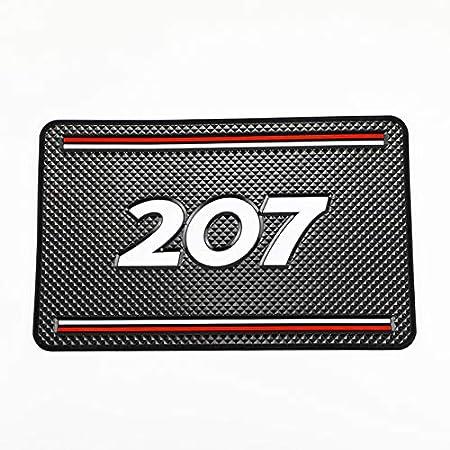 2008 YYBF Tapis antid/érapant de Voiture Support de t/él/éphone Tapis antid/érapant Tapis antid/érapant pour Peugeot 206207307 3008 2008308408508301208 Accessoires 1 pi/èces
