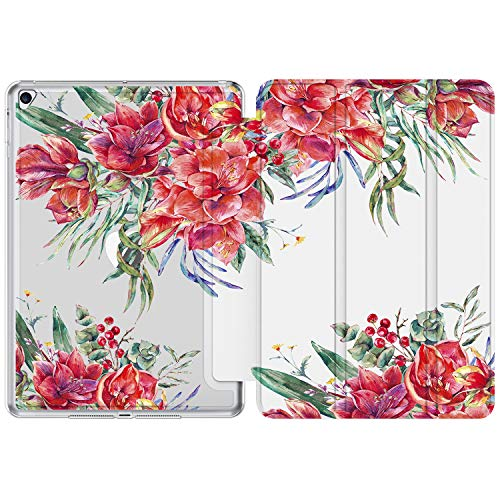 iPad 9.7 Case (2018/2017),iPad Air 2 Case, iPad Air Case with Flower Floral Designs for Kids Girls Women,Slim Fit Smart Stand Cover for Apple iPad 5th/6th Gen,iPad Air1/Air2[Auto Sleep/Wake]-21