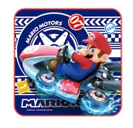 Marushin Super Mario Mini handdoek (Blue Drifting) 6490972