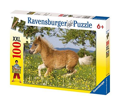 Ravensburger - 10776 - Puzzle enfant - Poney mignon - 100 Pièces