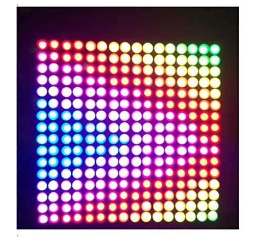 H/A 8 * 32 cm 16 * 16CM WS2812B 256 Pixel NÚMERO NÚMERO 5050 RGB Dream Color PROGRAMACIÓN LED Módulo LED DC5V-A MENGN (Size : 32cm*8cm)