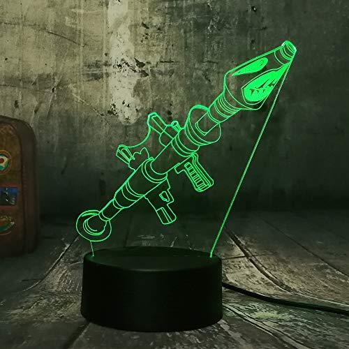 Luz De Noche Led 3D Luz De Ilusión 3D...