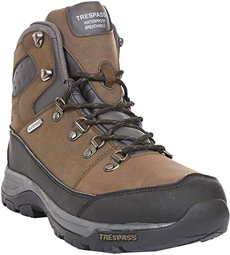 Trespass Herren Thorburn Trekking- & Wanderstiefel, Braun (Dark Brown), 43 EU
