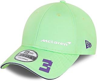New Era Silver Special Edition 9Forty Men's Snapback Cap ~ McLaren No. 3 Green