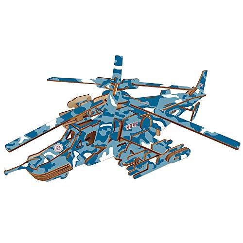 MXMYFF DIY Handmade Toy Puzzle Pacht 84pcs 3D Jigsaw Puzzle Black Shark Fighter Model Kit Best Birthday Gift für Kinder und Jugendliche