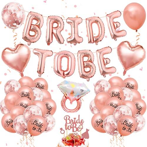 Bride To Be Palloncini Banner Oro Rosa,Sposa Palloncini, Palloncini Oro Rosa, Bride to Be Addio al Nubilato,Bachelorette Party Accessories,Hen Party, Addio al Nubilato Sposa,Addio al Nubilato Sposa