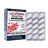 Tutto Farmacia LattoFerrina Bioattiva 200mg+ Colostro | Rinforza il Sistema Immunitario | Integratore Alimentare e Antiossidante | Attività Antimicrobica, Battericida e Fungicida