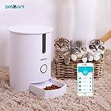 Comederos Automático para Mascotas, Raffaello Smart Perros Alimentador Dispensador de Alimentos para Perros Grandes, Medianos y Pequeños, Gatos y...