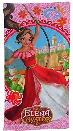 Disney de niña Elena de Avalor Toalla de playa (Rosa)