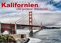 Kalifornien . Die goldene Westkueste (Tischkalender 2022 DIN A5 quer): Der goldene Bundesstaat der USA an der Westkueste (Monatskalender, 14 Seiten )
