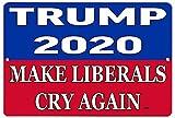 KE OU Donald Trump Blue 2020 Presidential Election Vintage
