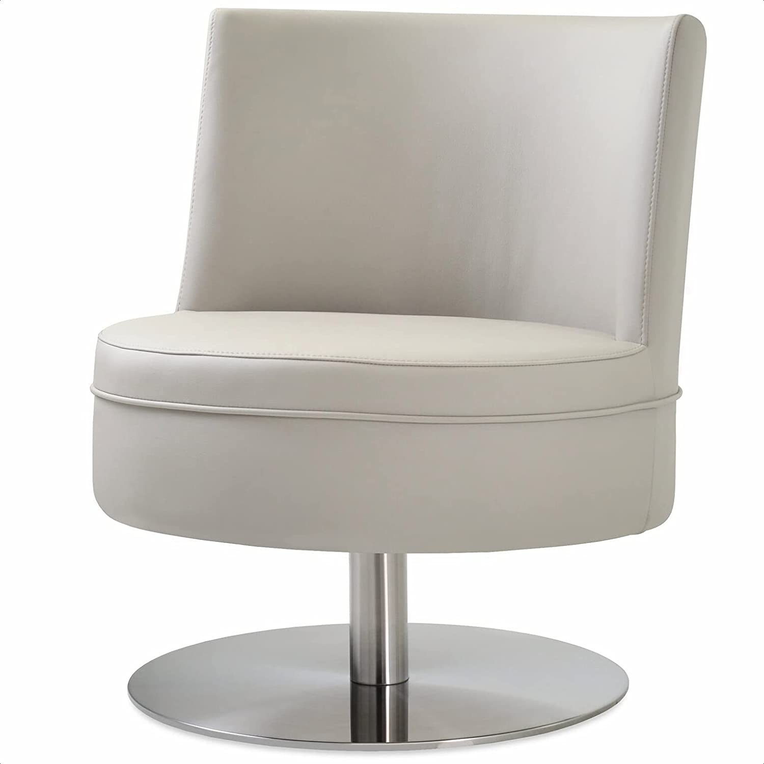 Hilton Swivel Courier shipping free Soldering Barrel Chair Seat Frame Mate Material: Fill Foam