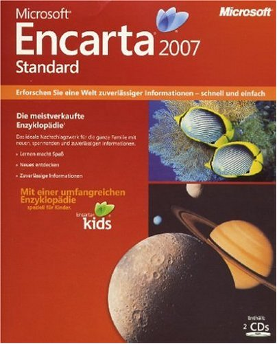 Microsoft Encarta 2007 Standard