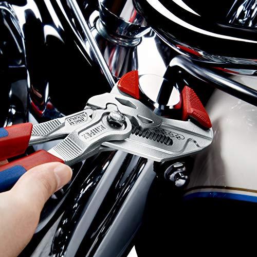 Knipex Zangenschlüssel – Greifzange und Schraubenschlüssel, 250 mm, Greifweite bis 46 mm - 9
