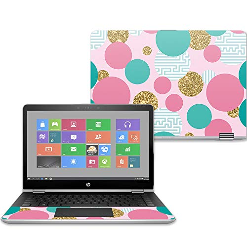 Protective 2018 Made in The USA - Basketball Remove Easy to Apply and Unique Vinyl Decal wrap Cover Durable and Change Styles MightySkins Skin Compatible with HP Chromebook 13 G1 13.3