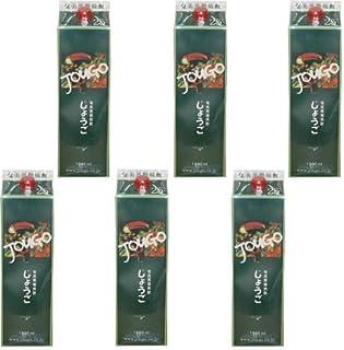 奄美黒糖焼酎 じょうご(Jougo) 25度1800ml(1.8L) 紙パック 6本セット