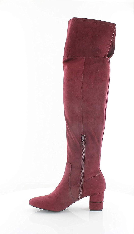 Alfani Womens Novaa Fabric Closed Toe Over Knee Fashion Boots