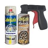 Ludwig Lacke Spray Set für Mercedes Schwarz 040 + Griff