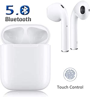 Wireless Earbuds Bluetooth 5.0 in-Ear Headsets 3D Stereo IPX5 waterproof Sports Headset Pop-ups Auto Pairing Fast Charging for Apple of airpods and Airpod Apple Wireless Headphones