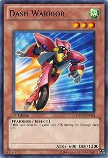 Yu-Gi-Oh! - Dash Warrior (DREV-EN003) - Duelist Revolution - 1st Edition - Common
