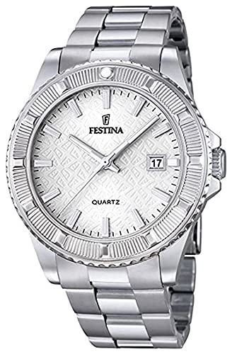 Festina f20428/1 Reloj para Mujer Analógico de Cuarzo con Brazalete de Acero Inoxidable F20428/1