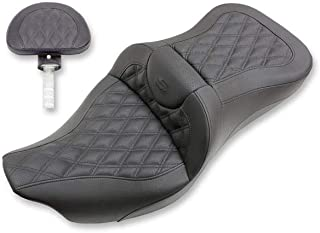 Saddlemen 08-13 Harley FLHX2 Road Sofa LS Seat with Backrest (Extended Reach)
