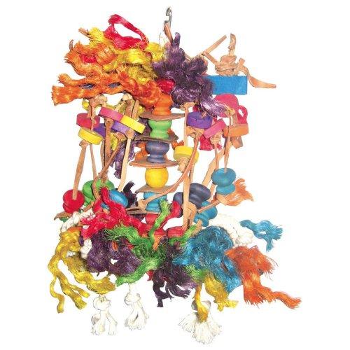 A and E Cage Co. A&E Cage Co. Small Squid Bird Toy, Multi