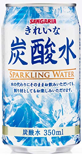 サンガリア きれいな炭酸水 350ml×24本
