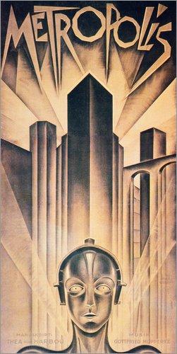 Póster 40 x 80 cm: Metropolis de Granger Collection - impresión artística, Nuevo póster artístico