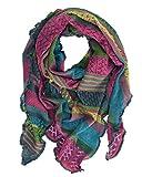Invero, sciarpa triangolare Merino Kyra, 100% lana Magia Taglia unica