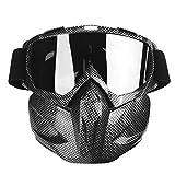 Gafas de moto Hombre Mujer Gafas de moto de nieve Esquí...