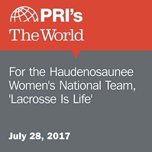 For the Haudenosaunee Women's National Team, 'Lacrosse Is Life' audiobook cover art