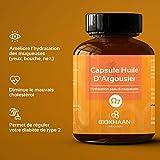 OMEGAS COMPLETS 3-6-7-9 - Huile Argousier Pure BIO - Pression à froid - Sans OGM - 100 Gélules