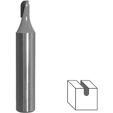 Ø 25,4 mm HM Hohlkehlfräser Schaft 8 mm Holz Kunststoff Nutenfräser Kugelfräser