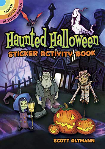 Haunted Halloween Sticker Activity Book (Dover Little Activity Books Stickers)