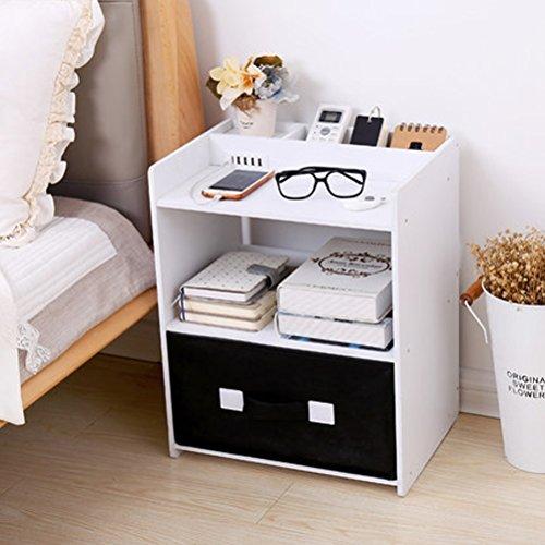 WLH- Simple nachtkastje Eenvoudige Slaapkamer Multifunctionele Bedside opladen Kasten Living Kasten Affordable (39.5x29.5x49cm) (Color : B)