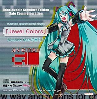 ave;new feat.初音ミク/Jewel Colors CD