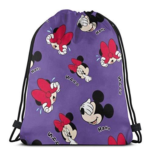 zicheng Classic Drawstring Bag-Shy Gym Backpack Shoulder Bags Sport Storage Bag for Man Women