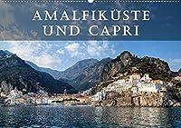 Amalfikueste und Capri (Wandkalender 2022 DIN A2 quer): Die Amalfikueste und die Insel Capri gelten als die schoensten Mittelmeer-Destinationen. (Monatskalender, 14 Seiten )