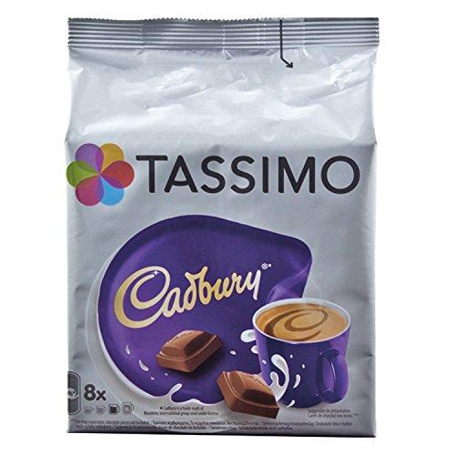 Tassimo Cadbury Kakaospezialität, Kakao, Schokolade, Kapsel, 8 T-Discs/Portionen