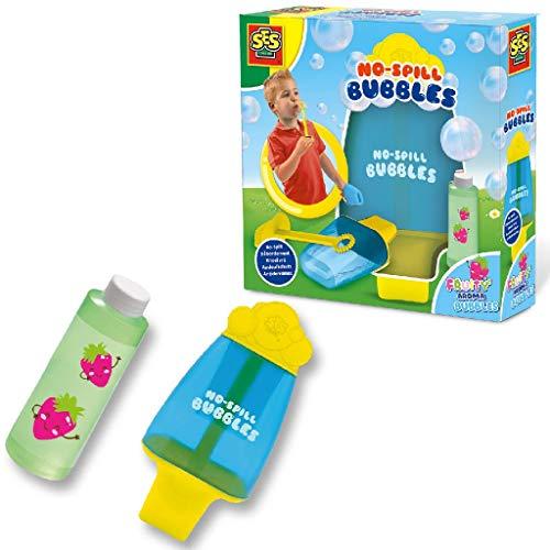 SES Creative- Mega Bubbles-Burbujas sin Gotas jabón, Color Neutro (2262)