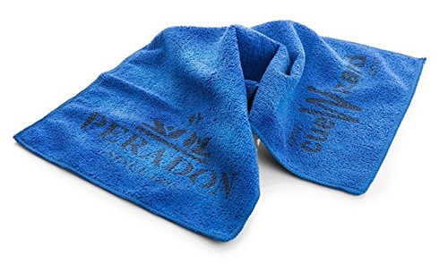 Snow Keychain Peradon Blue Microfibre Cue Towel