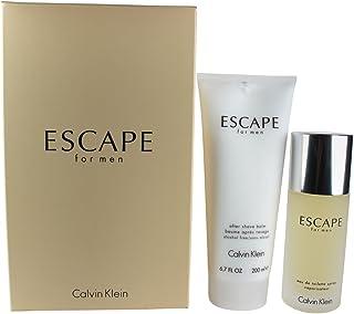 CALVIN KLEIN Escape Eau De Toilette For Men, 100ml + After Shave Balm, 200ml (Soft Box) Set