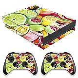 VINILOL Vinilo para Xbox One X pegatina cubierta Gomitas Dulces skin para consola y 2 mandos.