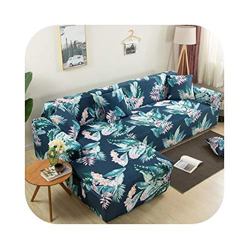 Sofabezug, L-Form, 2 Stück, Möbelschutz, Sofa-Schutz, elastisch, Ecken, Sofa, Farbe 22-2