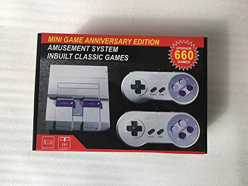 Super Mini NES Classic SFC TV Video Handheld Game Console Entertainment System Built-in 660 Classic Anniversary Edition
