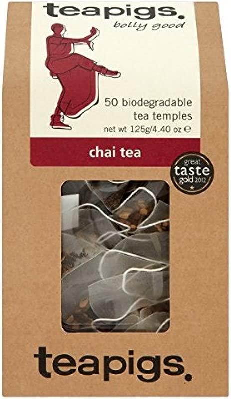 Teapigs Chai Tea Temples 50 Count