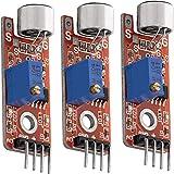 AZDelivery 3 x KY-037 Micrófono detección de Sonido de Alta sensibilidad módulo Grande compatible con Arduino con E-Book incluido!