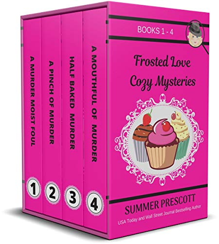 Frosted Love Cozy Mysteries: Books 1 - 4